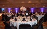 Upscale dinner event in the Ballroom