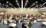 Panoramic North Exhibit Hall Vendor Setup